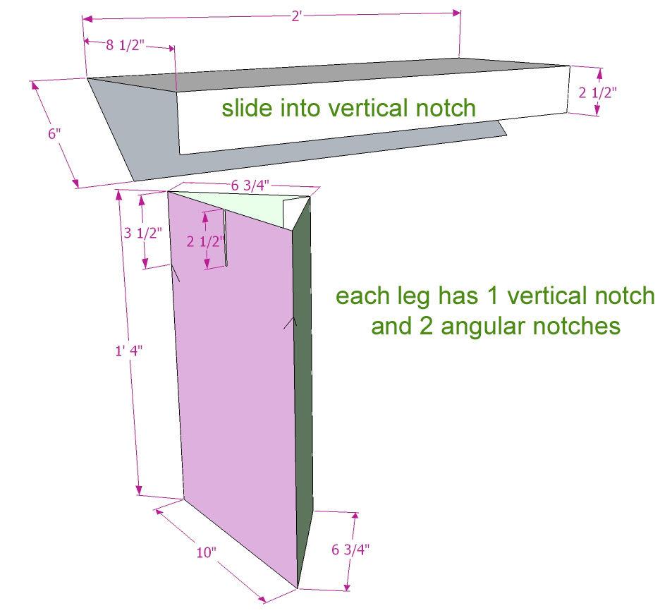 plan para hacer muebles de carton, mesa de carton paso a paso, tutoriales de bricolaje