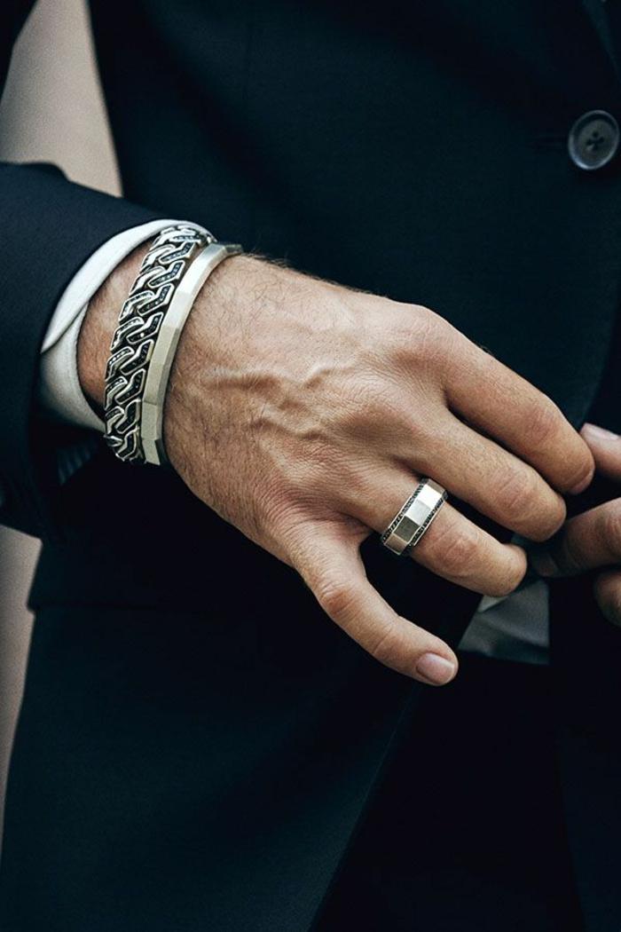 accesorios hombre para un estilo business casual, ropa casual para hombre, traje oficial color negro