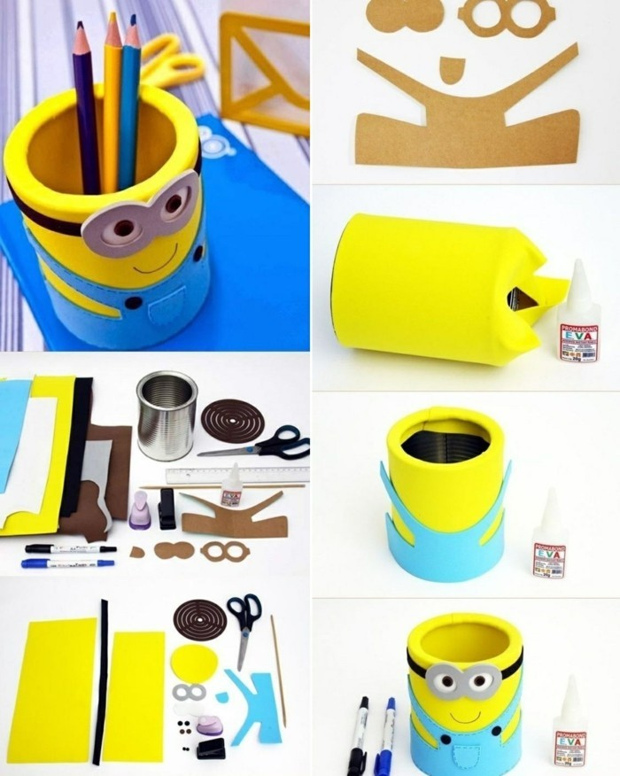alucinantes ideas de latas decoradas para pequeños y adultos, manualidades originales paso a paso