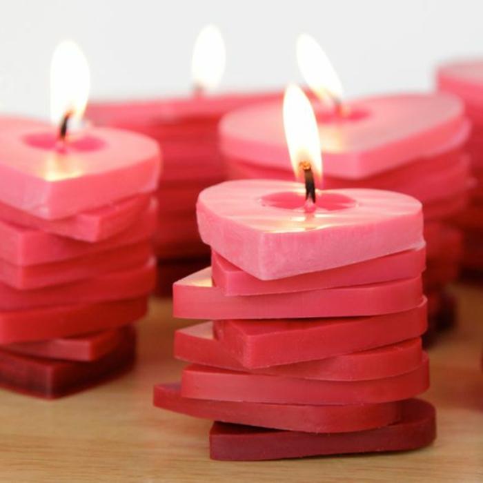 ejemplos de encanto sobre cómo sorprender a tu pareja en el dia de los enamorados, cómo hacer velas originales