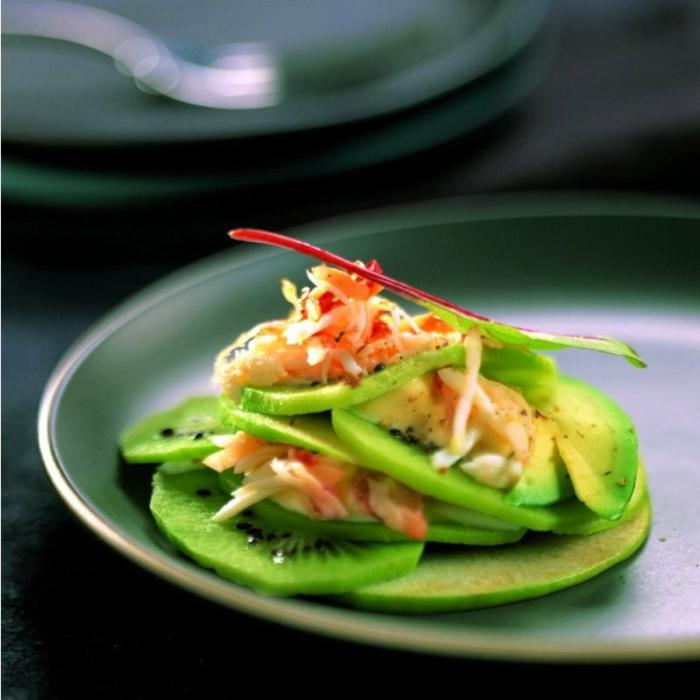 ideas de ensaladas con aguacate, originales propuestas de ensaladas con frutas y verduras en imagines