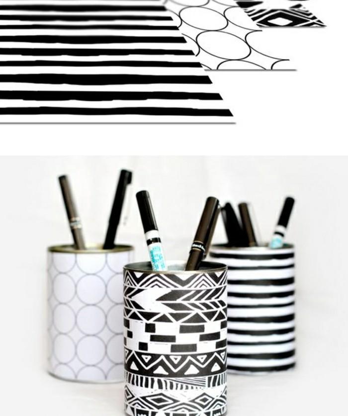 originales propuestas de latas decoradas para tu hogar, ideas de manualidades para decorar la casa