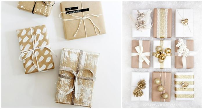 propuestas originales sobre como envolver un regalo navideño de manera original con poco presupuesto