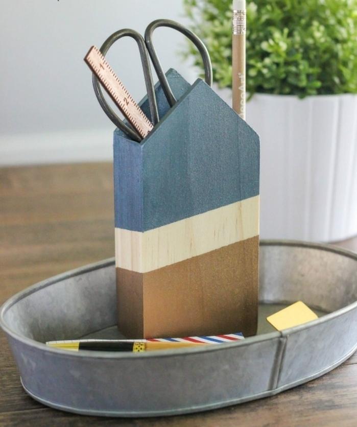 ingeniosas ideas sobre regalos dia del padre manualidades, caja de madera para utensilios