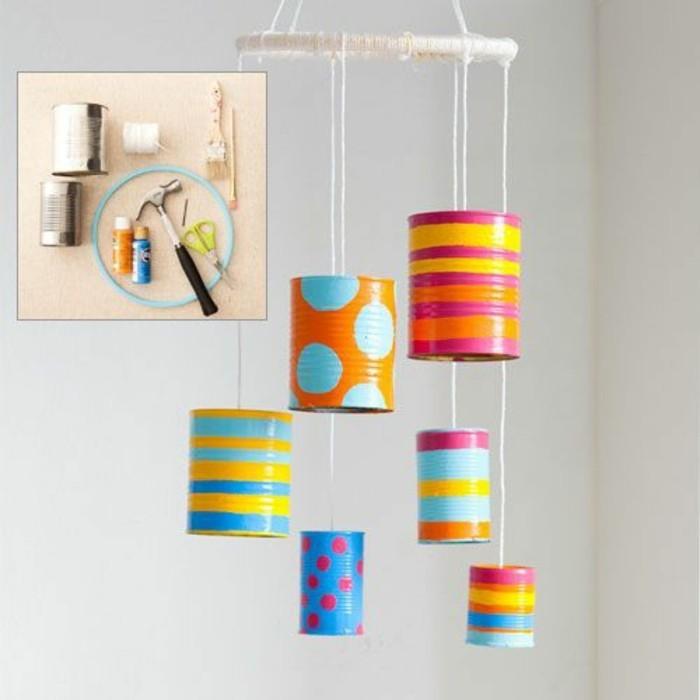 originales ideas con latas recicladas, fotos de manualidades con latas, proyectos originales en imagines