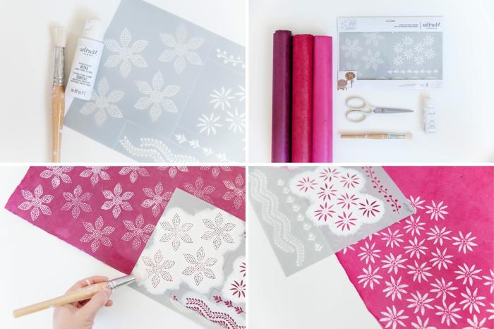 como decorar papel de madera original, ideas de papel de regalo en mas de 100 fotos