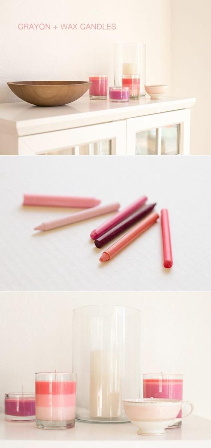 como hacer velas caseras con lápices de color paso a paso, preciosas ideas DIY para decorar tu casa