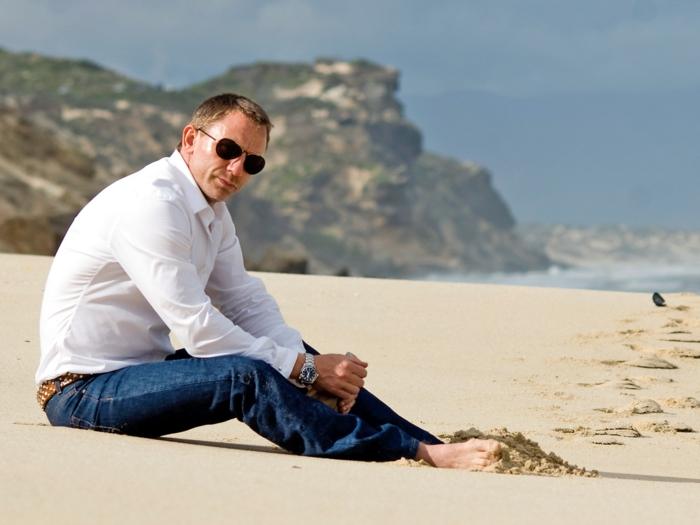 ropa informal hombre en 60 propuestas, precioso ourtfit presentado por Daniel Craig