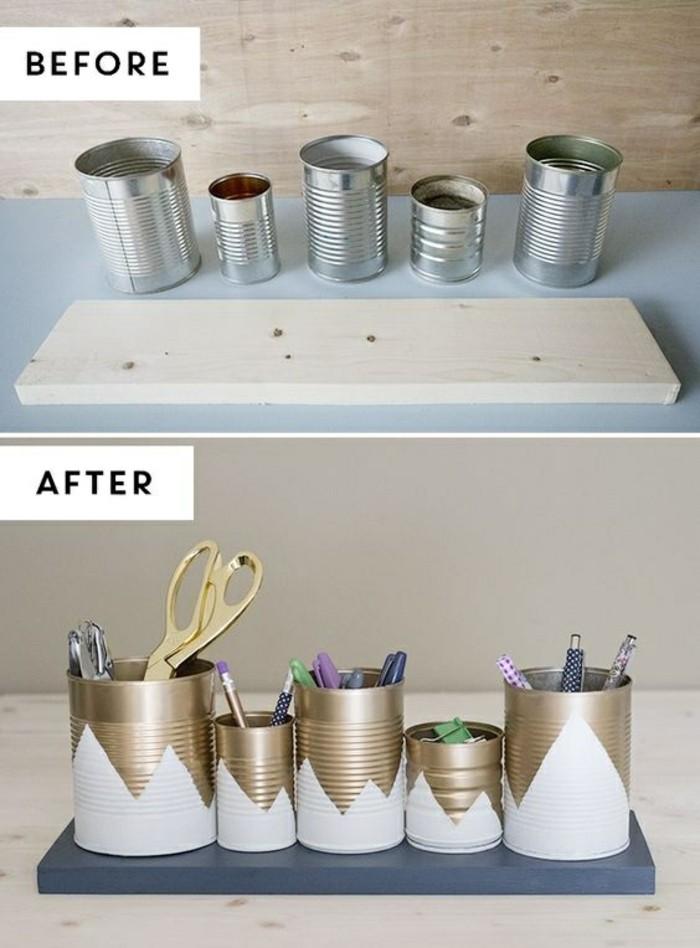como reciclar latas de conserva, originales propuestas en imagines con tutoriales paso a paso