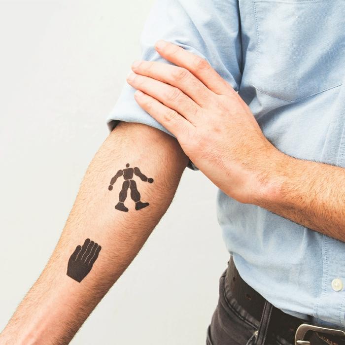tatuajes para hombres falsos, ideas sobre cómo hacerte un tatuaje temporal en 100 fotos