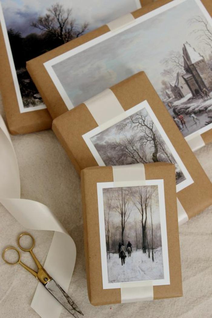 ideas sobre envolver regalos con fotos, 100 fotos de regalos con embalaje hecho en casa