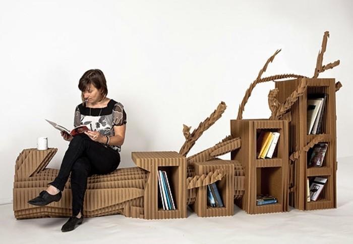 muebles de carton patrones en imagines, las mejores propuestas de muebles hehcos con bricolaje