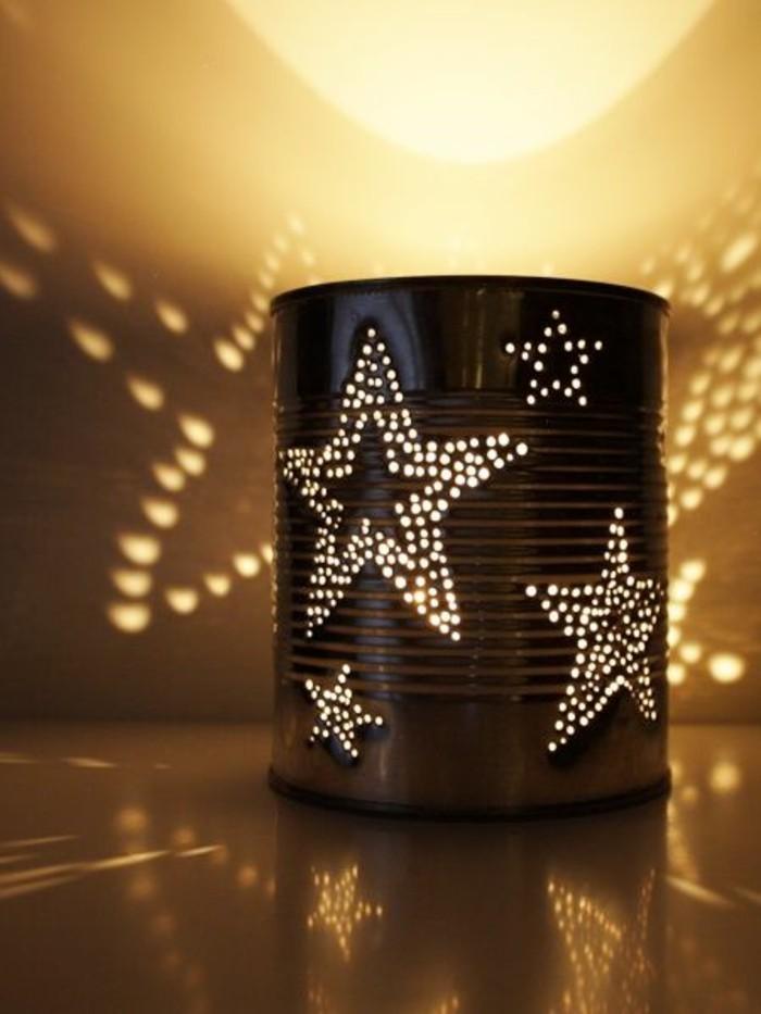 linternas caseras decoradas con mucho encanto, latas de conserva decoradas, propuestas originales