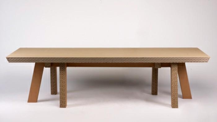ideas de mesa de carton fáciles de hacer, mesa baha hecha con cartón, los mejores proyectos DIY