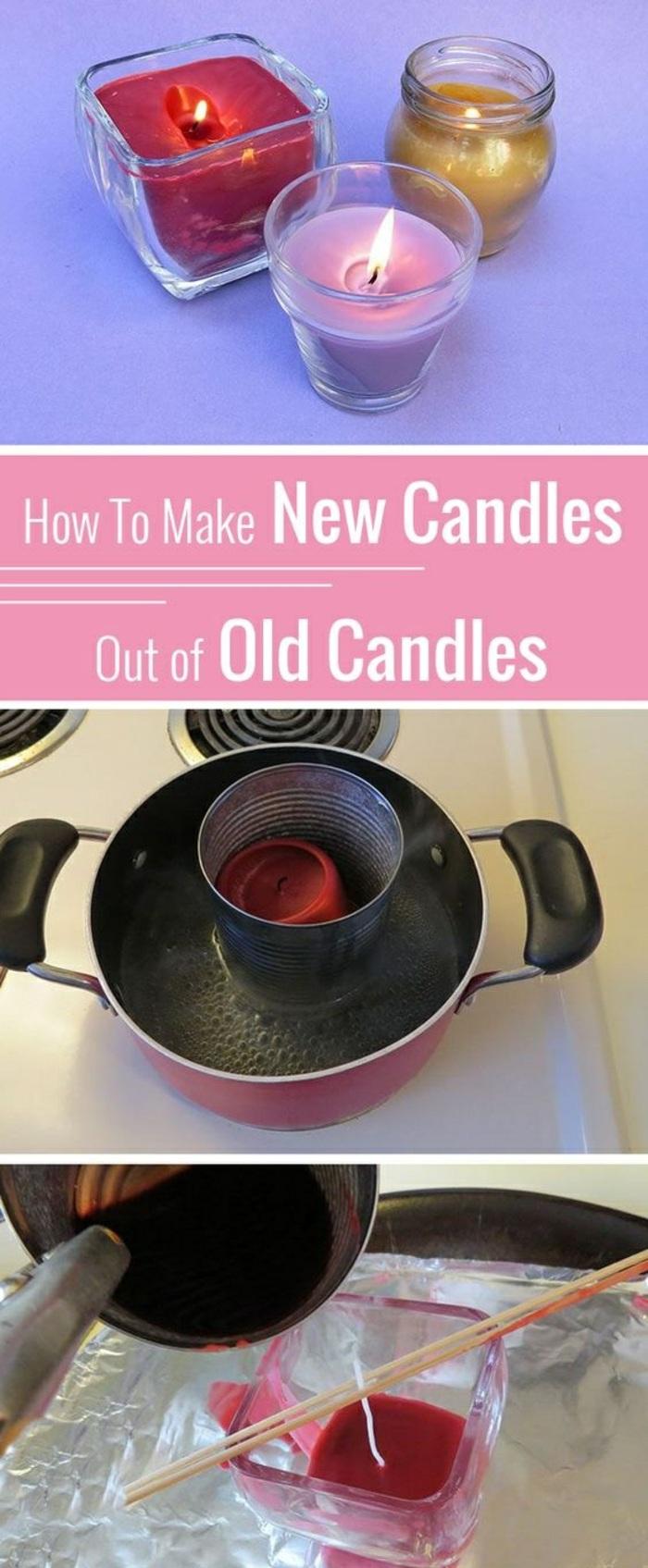 decoración con velas en pequeños frascos de cristal, pasos para hacer velas decorativas DIY