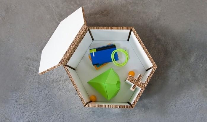 propuestas de muebles DIY originales hechos con palets y cartón, diseños de muebles originales