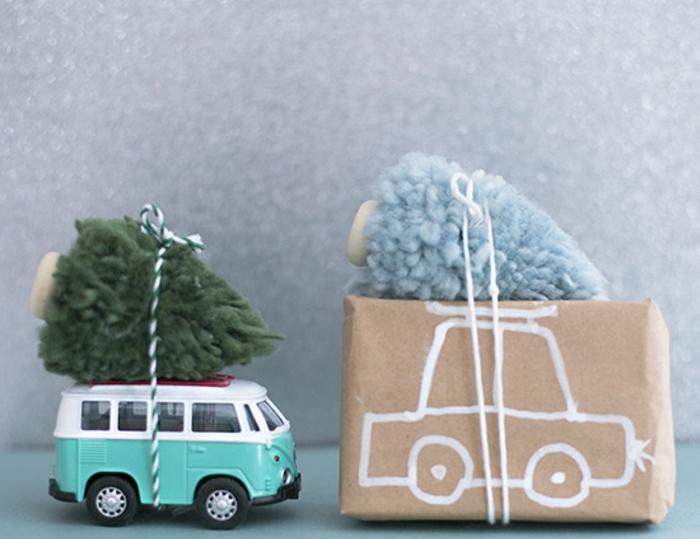 originales propuestas para envolver regalos para niños, embalaje de regalos DIY paso a paso