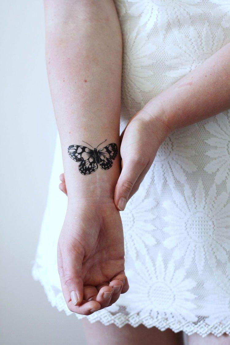 más de 80 propuestas de tatuajes mariposa para hombres y mujeres, tatuajes de mariposa con significado