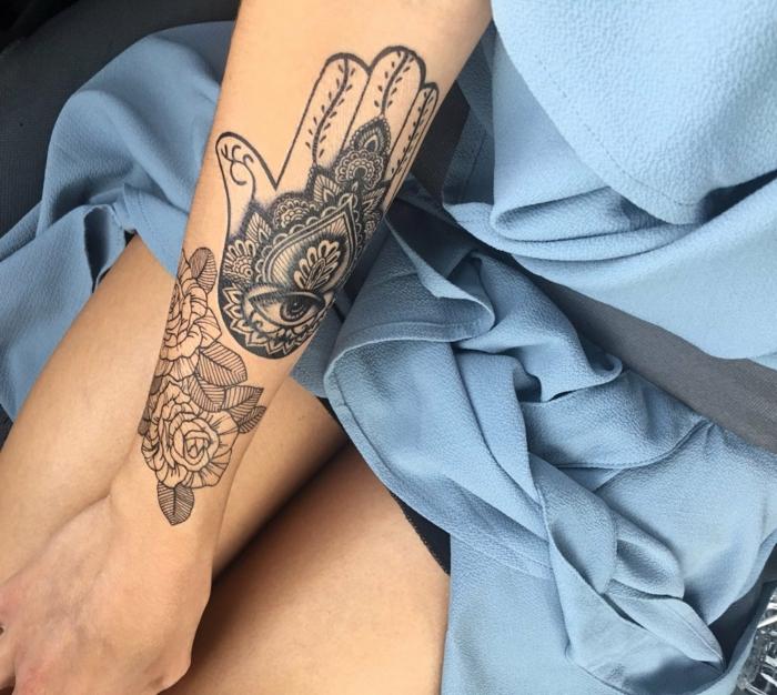 ideas de tatuajes no permanentes, diseños bonitos con grande significado, más de 100 propuestas en fotos