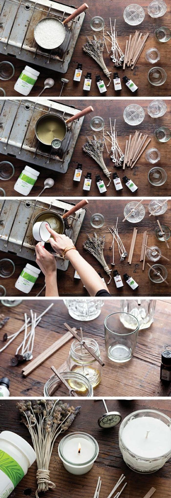 manualidades para niños y adultos, ideas sobre cómo hacer velas aromáticas caseras paso a paso