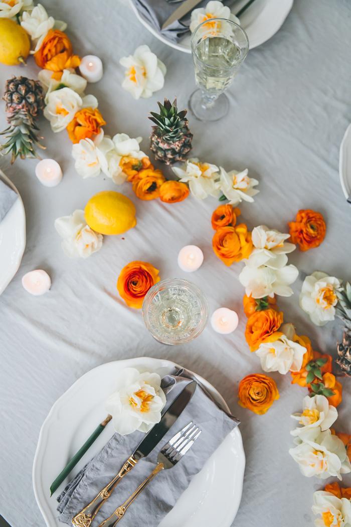 magníficas ideas sobre decoracion centro de mesa para fiestas de cumpleaños y cenas con amgios