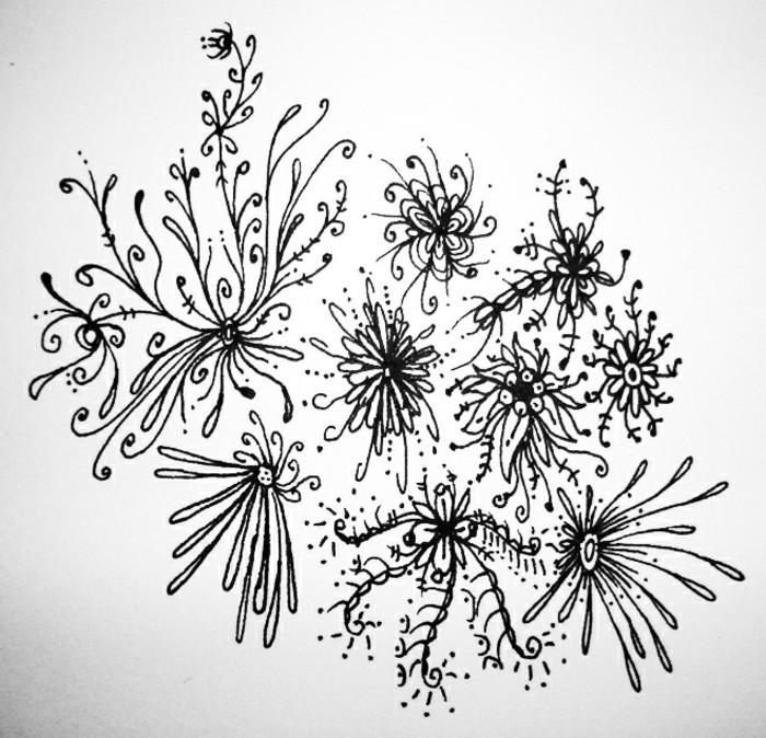 interesantes propuestas de dibujos a lapiz con motivos florales, dibujos a lapiz faciles y hermosos