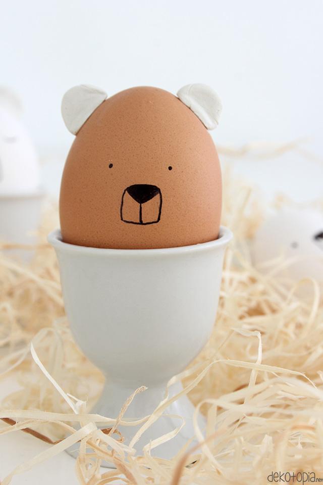 manualidades para niños y adultos, como decorar huevos de pascua, decoración casera super original
