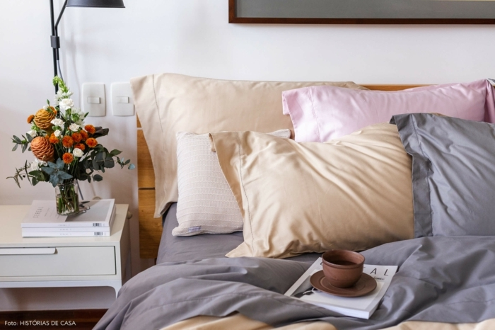 dormitorios de matrimonio decorados en colores pastel, bonitas ideas de decoración de habitaciones