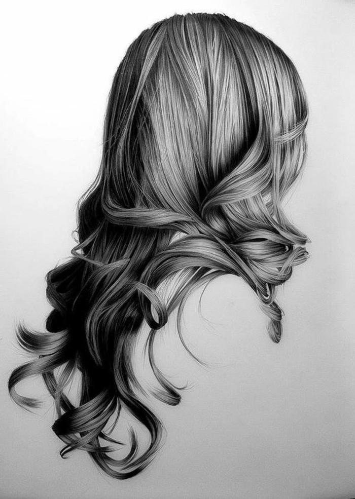 las mejores ideas de dibujos a lápiz fáciles, precioso dibujo hipperrealista con lápiz negro