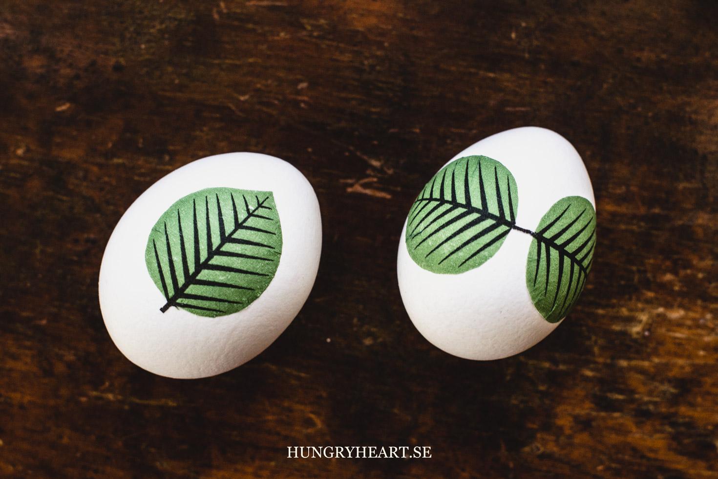 manualidades huevos de pascua en bonitas imagines, huevos de Pascua con motivos florales
