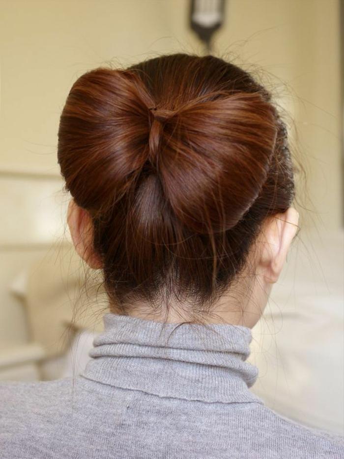 alucinantes ideas de recogidos pelo corto y media melena, cabello recogido en moño original