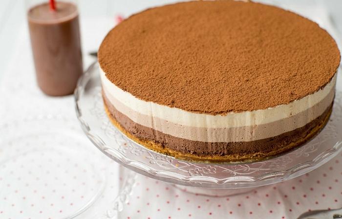 geniales recetas de tarta de chocolate sin horno, tartas de chocolates ricas y fáciles de hacer
