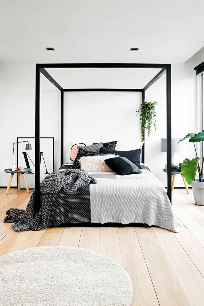 precioso dormitorio moderno en estilo bohemio, muebles dormitorio de diseño original en 90 imagines