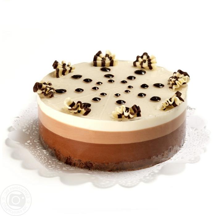 tarta de chocolate sin horno originales de una presentación impecable, la tarta de chocolate más rica del mundo