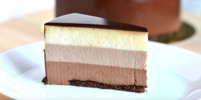 ricas recetas de tartas de chocolate rápidas y fáciles, tarta de chocolate negro, con leche y blanco