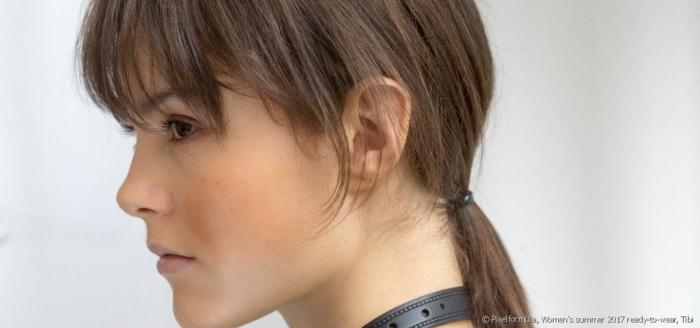 ideas de peinados faciles pelo corto en foros, cabello corto con flequillo recogido en coleta baja