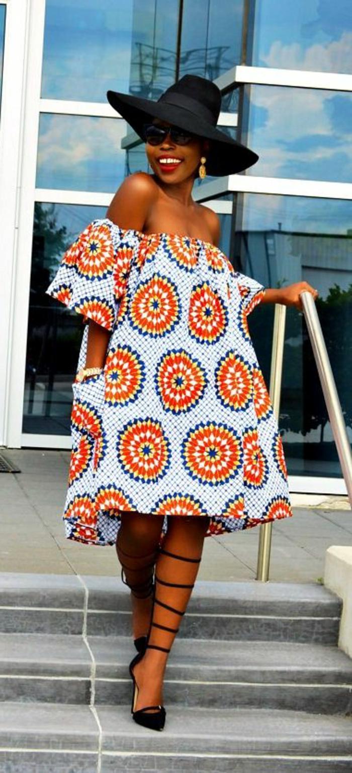 preciosos diseños de prendas africanas con estampados, ropa africana super bonita para mujeres
