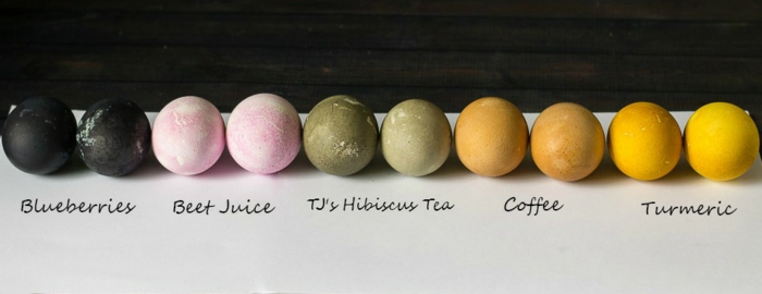 qué usar para hacer tintes de huevos caseros, ideas originales de manualidades para Pascua con tutoriales