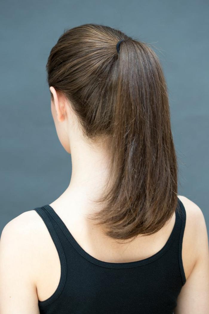 como hacer peinados faciles pelo largo paso a paso, tutoriales de recogidos sencillos y originales