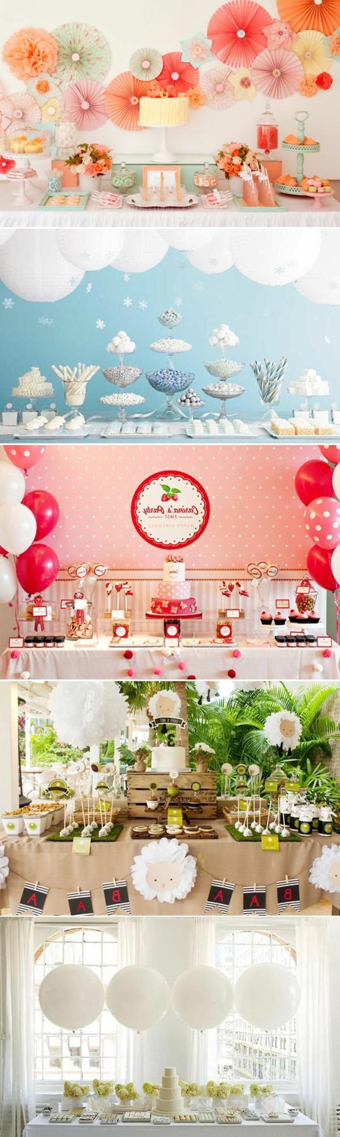 coloridas propuestas sobre cómo decorar el comedor para una fiesta infantil o cumpleaños