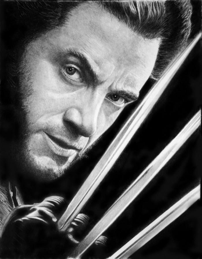 dibujos bonitos a lapiz en estilo realista, retratos de actores y celebridades hechos con lápiz