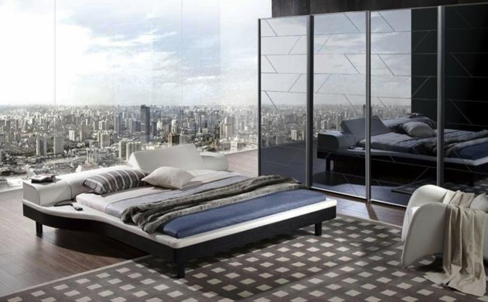 preciosa habitación con grandes ventanales y bonita vista, habitaciones matrimonio modernas en imagines