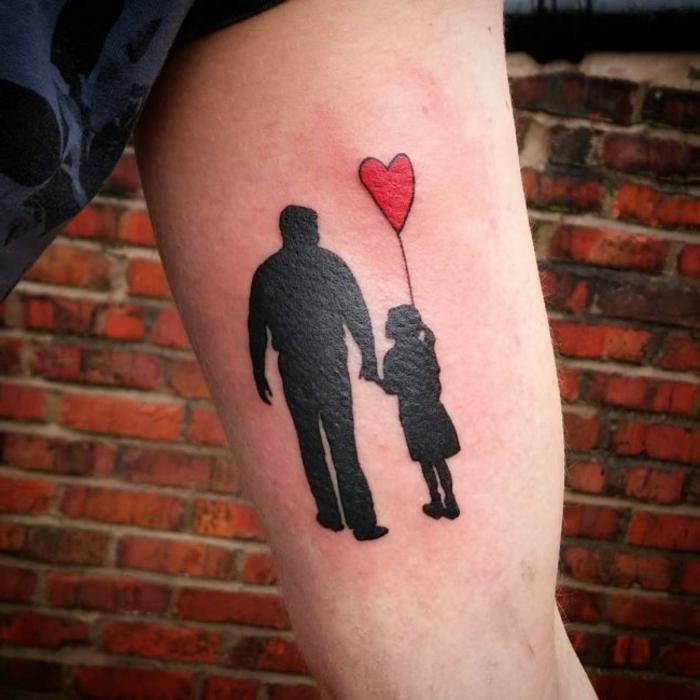dibujos de tatuajes únicos con corazones, diseños de tattoos para expresar el amor hacia un ser querido