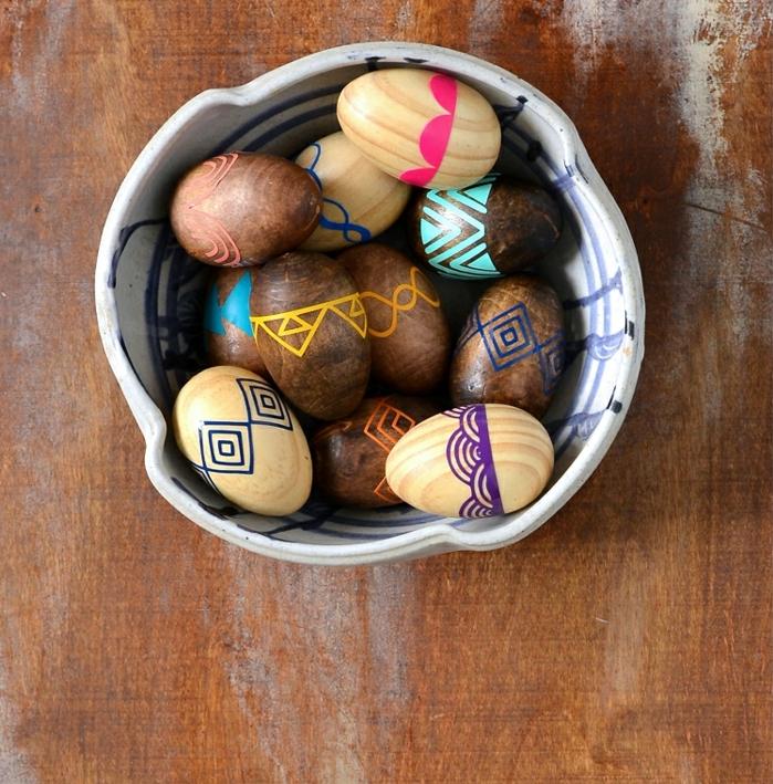 creativas propuestas de huevos de Pascua caseros, origianels ideas de manualdiades de Pascua para niños