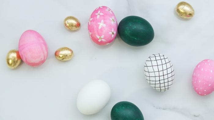 preciosas ideas de decoración de huevos para pascua, manualidades originales para pequeños y adultos