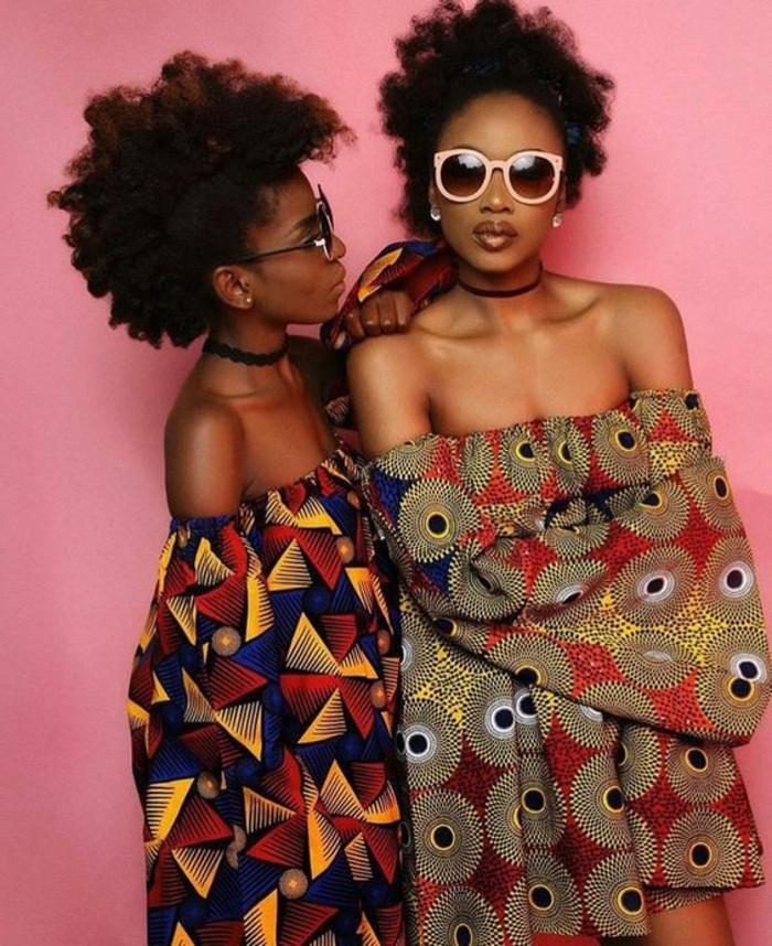 vestidos africanos de corte original, diseños de vestidos africanos super modernos con estampados típicos