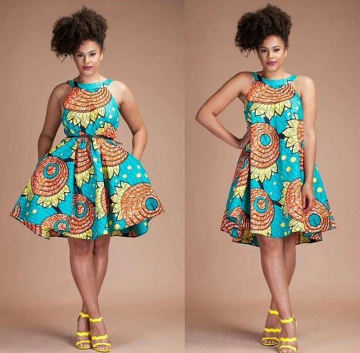 faldas africanas y vestidos super bonitos, los mejores ejemplos de prendas inspiradas en los trajes africanos