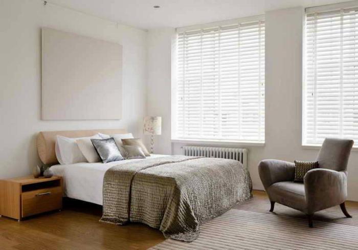 habitaciones decoradas en estilo eclectico, cabeceros cama matrimonio originales, dormitorio decorado en colores claros