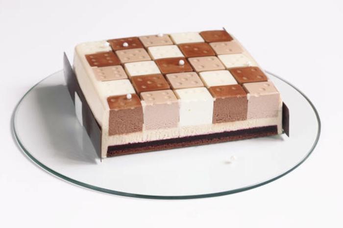 como hacer tarta de tres chocolates de presentación original, 80 fotos de tartas de chocolate únicas