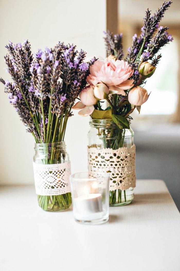 las mejores ideas de decoración casera en primavera, que poner encima de una mesa de comedor